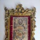 Arte: GRABADO CON ALUSION REAL, SIGLO XVIII. Lote 161806354