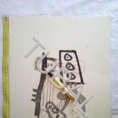 Arte: TUBAL GRABADO AGUAFUERTE BUMERADO Y FIRMADO A GRAFITO. Lote 161822750