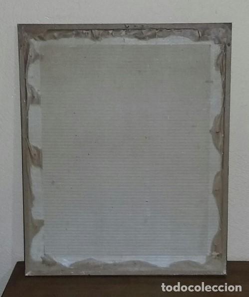 Arte: Reproducción grabado ciervo. J. Elias Ridinger. Con marco y cristal. - Foto 6 - 162202838
