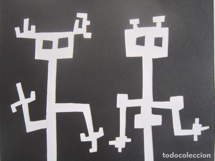 Arte: Two of Us - Monotipo sobre papel de GAP (Guillermo Antón Pardo) - 25 x 35,5 cm - Foto 2 - 162289586