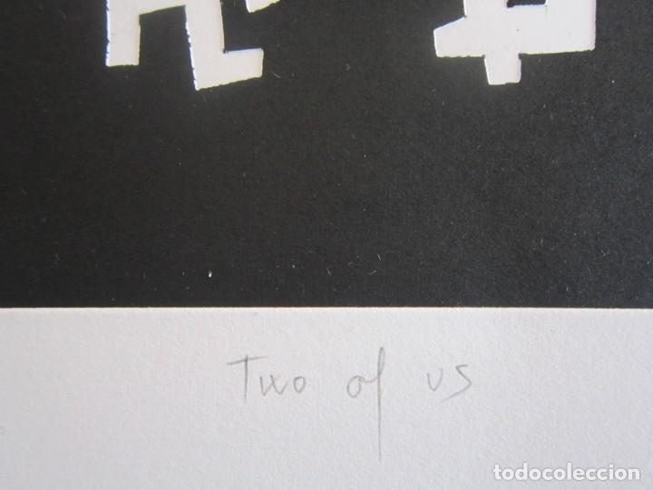 Arte: Two of Us - Monotipo sobre papel de GAP (Guillermo Antón Pardo) - 25 x 35,5 cm - Foto 5 - 162289586