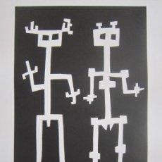 Arte: TWO OF US - MONOTIPO SOBRE PAPEL DE GAP (GUILLERMO ANTÓN PARDO) - 25 X 35,5 CM. Lote 162289586