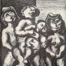 Arte: LAXEIRO. XOSÉ OTERO ABELEDO. (LALIN, 1908 - VIGO, 1996) LITOGRAFÍA.. Lote 162383442