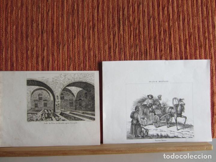 Arte: 1835- 3 GRABADOS ORIGINALES. RUSIA. MONUMENTO A PULTAWA.INCENDIO EN EL KREMLIN.CAMPESINOS RUSOS - Foto 2 - 162445338