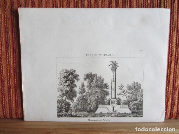 Arte: 1835- 3 GRABADOS ORIGINALES. RUSIA. MONUMENTO A PULTAWA.INCENDIO EN EL KREMLIN.CAMPESINOS RUSOS - Foto 3 - 162445338