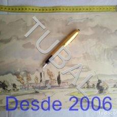 Arte: TUBAL LAMINA FIRMADA A LAPIZ GUELL. Lote 162493546