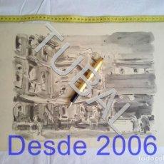 Arte: TUBAL LAMINA PROBABLEMENTE ARTISTA CATALAN ART CATALÁ . Lote 162494674