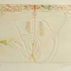 Arte: JOAN CRUSPINERA I MUÑOZ (1945) GRABADO 3/15 COMPOSICIÓN FIRMADO A LÁPIZ . Lote 162629426