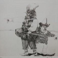 Arte: EL CIRCO.MIGUEL RUIZ POVEDA.. Lote 163177346