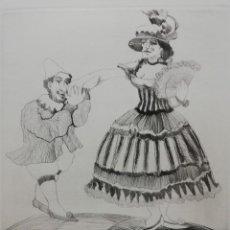 Arte: EL CIRCO.MIGUEL RUIZ POVEDA.. Lote 163177790