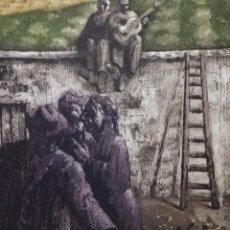 Arte: DUALIDAD FRENTE A LA TAPIA.MIGUEL VIRIBAY. Lote 163210194