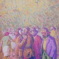 Arte: MASCARAS DEL OTOÑO .MIGUEL VIRIBAY. Lote 163216402