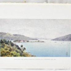 Arte: FOTO GRABADO BAHÍA DE VIGO, 20X13,5CM, LONDRÉS (1925), . Lote 163463142