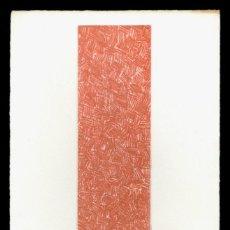 Arte: CHANCHO - GRABADO - FIRMADO Y NÚMERADO. Lote 163718950