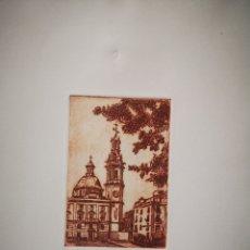 Arte: GRABADO VISTA DE ALCOY, NUMERADO Y FIRMADO.. 65/125. Lote 163802706