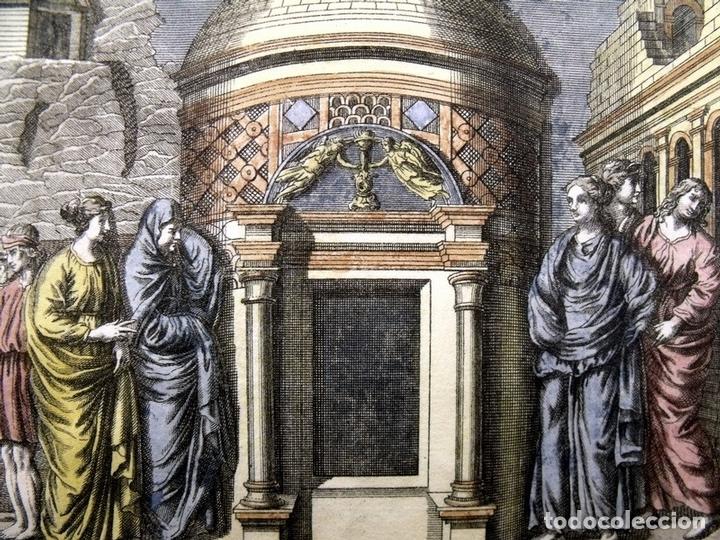 Arte: Diferentes costumbres romanas, 1757. Montfaucon - Foto 3 - 163939736