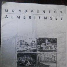 Arte: MONUMENTOS ALMERIENSES, EDITADO POR SEVILLANA DE ELECTRICIDAD Y LA VOZ DE ALMERIA VER LAS FOTOS. Lote 163960282