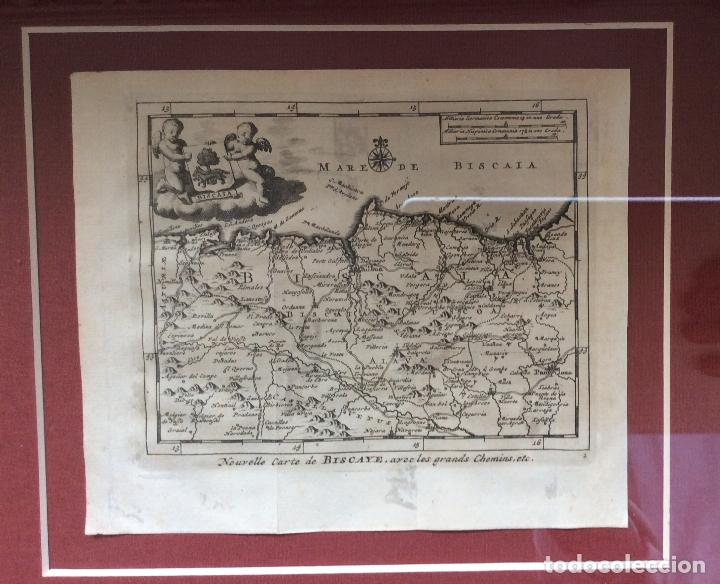 Arte: GRABADOS ANTIGUOS SIGLO XVIII,DE BIZKAIA Y GUIPUZKOA .ideal coleccionistas - Foto 2 - 164242018