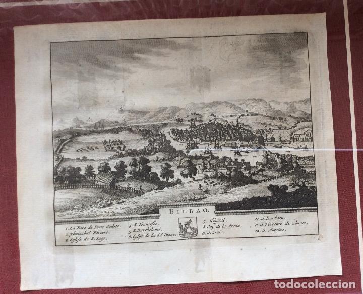 Arte: GRABADOS ANTIGUOS SIGLO XVIII,DE BIZKAIA Y GUIPUZKOA .ideal coleccionistas - Foto 3 - 164242018