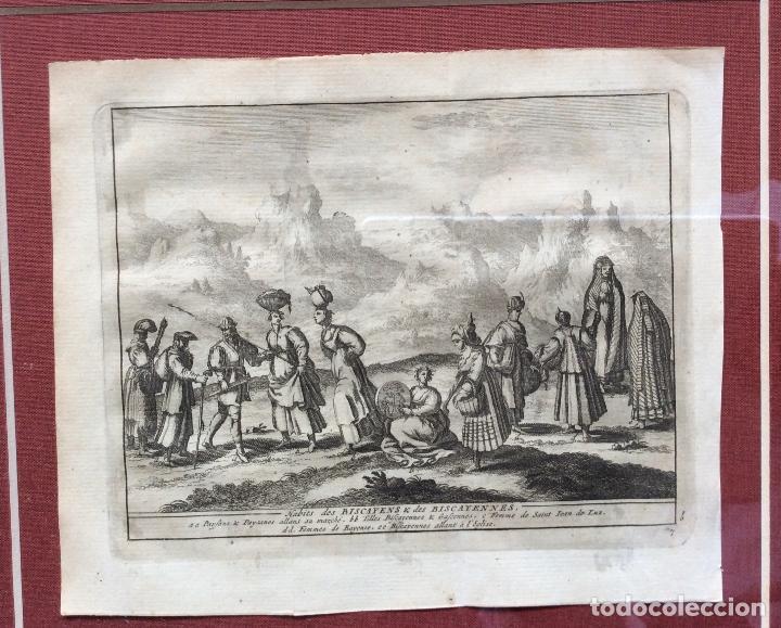 Arte: GRABADOS ANTIGUOS SIGLO XVIII,DE BIZKAIA Y GUIPUZKOA .ideal coleccionistas - Foto 4 - 164242018