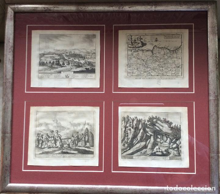 GRABADOS ANTIGUOS SIGLO XVIII,DE BIZKAIA Y GUIPUZKOA .IDEAL COLECCIONISTAS (Arte - Grabados - Antiguos hasta el siglo XVIII)