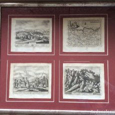 Arte: GRABADOS ANTIGUOS SIGLO XVIII,DE BIZKAIA Y GUIPUZKOA .IDEAL COLECCIONISTAS. Lote 164242018