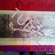 Arte: TUBAL SANT JORDI JUNCEDA GRABADO ENORME. Lote 164249678
