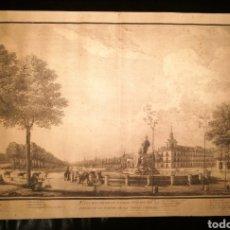 Arte: VISTA DEL PRADO DE MADRID POR ISIDORO GONZÁLEZ VELÁZQUEZ (1765-1840). Lote 164605060