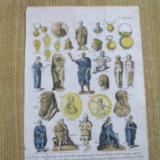 Arte: SENADORES DEL IMPERIO ROMANO, 1757.MONTFAUCON. Lote 164707970