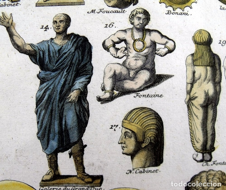 Arte: Senadores del Imperio romano, 1757.Montfaucon - Foto 3 - 164707970