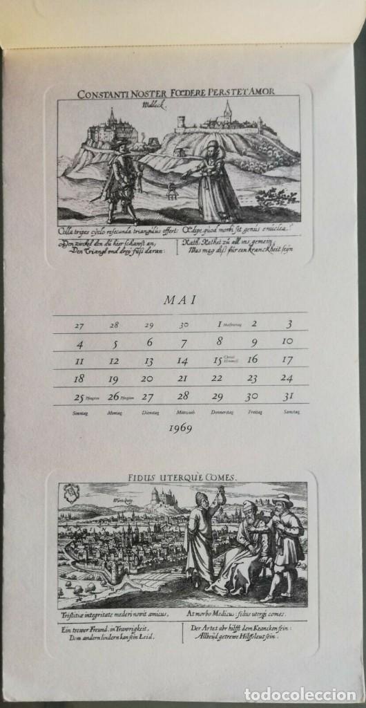 Arte: Calendario Alemán Meissners schatzkästlein. 14 Grabados Daniel Meisner (1585-1625) Adolf Korsch 1969 - Foto 5 - 164797730