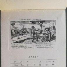 Arte: 14 GRABADOS DANIEL MEISNER (1585-1625) CALENDARIO ALEMÁN MEISSNERS SCHATZKÄSTLEIN. ADOLF KORSCH 1969. Lote 164797730
