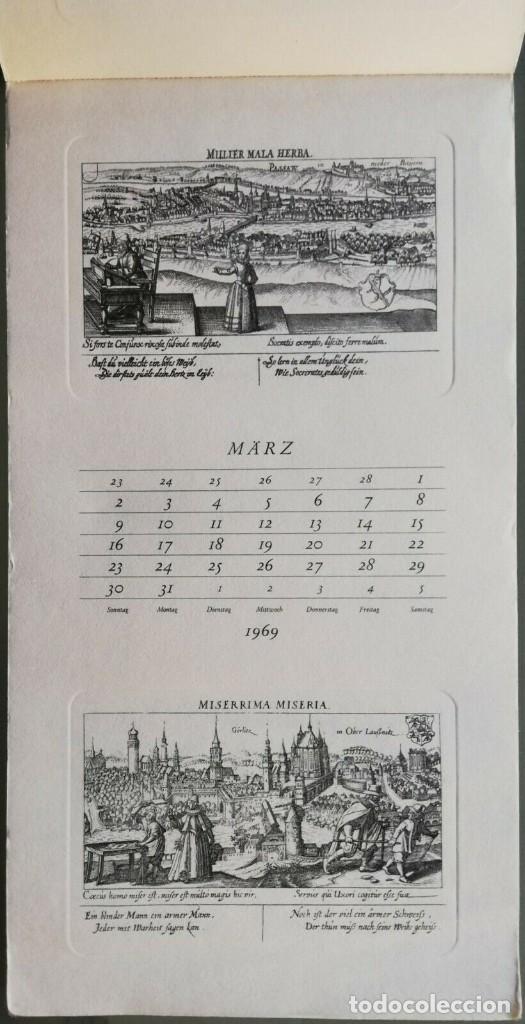 Arte: Calendario Alemán Meissners schatzkästlein. 14 Grabados Daniel Meisner (1585-1625) Adolf Korsch 1969 - Foto 6 - 164797730