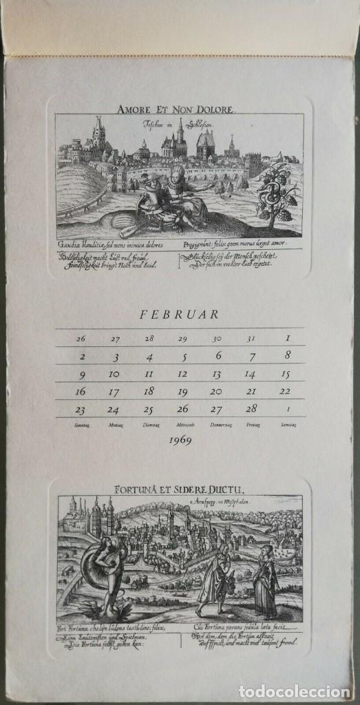 Arte: Calendario Alemán Meissners schatzkästlein. 14 Grabados Daniel Meisner (1585-1625) Adolf Korsch 1969 - Foto 8 - 164797730