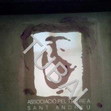 Arte: TUBAL GRABADO TERCER CONCURS TEATRE SANT ANDREU BARCELONA . Lote 164924174
