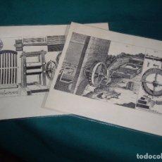Arte: GRABADOS - COMO SE HACIA EL PAPEL. Lote 165155954