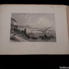 Arte: GENOA. LONDON, DUNCAN & MALCOLM GLASSGOW BLACKIE & SON. PRINTED BY H. ADLARD, DRAWN BY BROCKEDON. Lote 165316801
