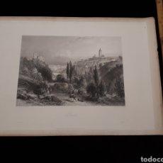 Arte: SIENA. LONDON, DUNCAN & MALCOLM GLASSGOW BLACKIE & SON. PRINTED BY H. ADLARD, DRAWN BY BROCKEDON. Lote 165317262