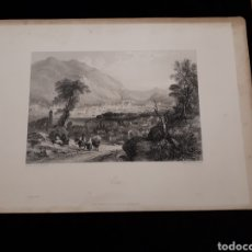 Arte: COMO. LONDON, DUNCAN & MALCOLM GLASSGOW BLACKIE & SON. PRINTED BY H. ADLARD, DRAWN BY GEO BARNARD. Lote 165318110