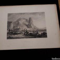 Arte: TERRACINA. LONDON, DUNCAN & MALCOLM GLASSGOW BLACKIE & SON. PRINTED BY H. ADLARD, DRAWN BY BROCKEDON. Lote 165318798