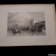Arte: PAVIA. LONDON, DUNCAN & MALCOLM GLASSGOW BLACKIE & SON. PRINTED BY H. ADLARD, DRAWN BY BROCKEDON. Lote 165322550