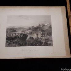Arte: RUINS OF THE BRIDGE OF AUGUSTUS. NARNI. LONDON, DUNCAN & MALCOLM GLASSGOW BLACKIE & SON.. Lote 165323982