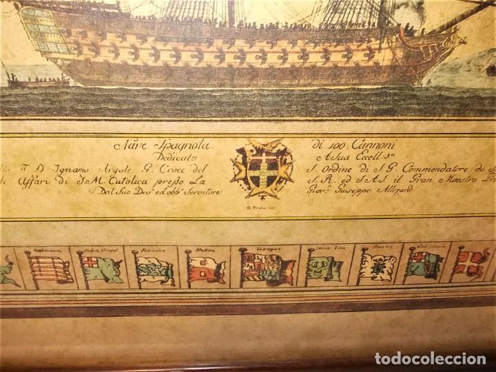Arte: Antiguo cuadro Grabado en plancha a color de 1972 en papel especial - Foto 8 - 165608662