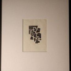 Arte: EDUARDO CHILLIDA.SAKONDU.GRABADO A LA MADERA .FIRMADO Y NUMERADO A MANO POR EL ARTISTA.. Lote 165629994
