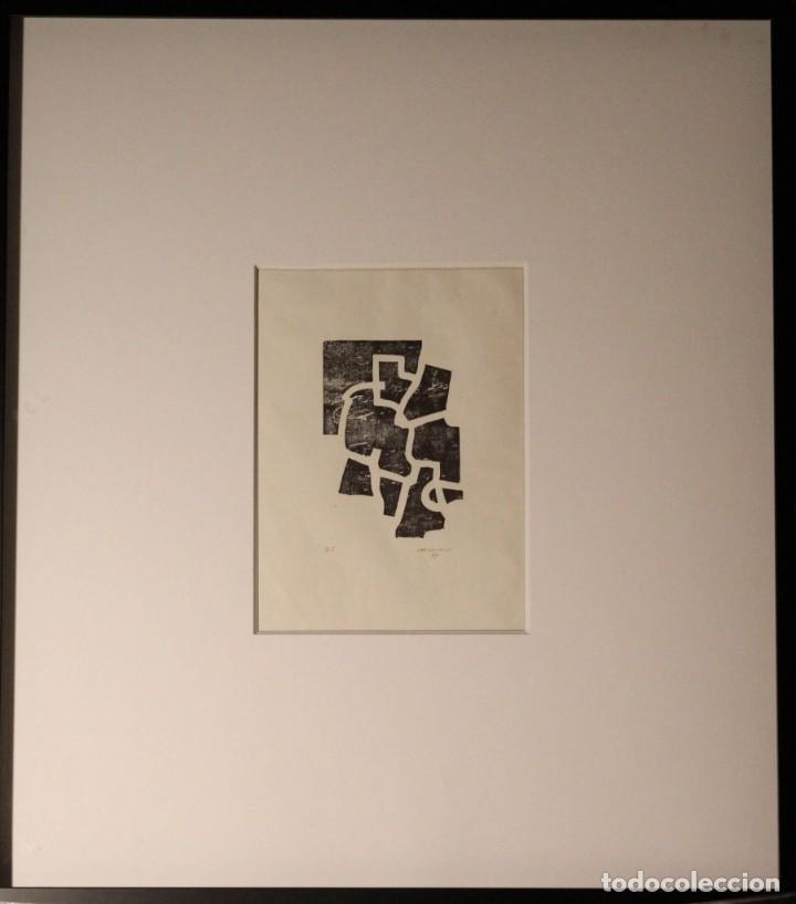 Arte: EDUARDO CHILLIDA.SAKONDU.GRABADO A LA MADERA .FIRMADO Y NUMERADO A MANO POR EL ARTISTA. - Foto 6 - 165629994