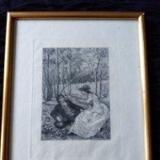 Arte: GRABADO ROMANTICO. S.XIX.. Lote 165702733