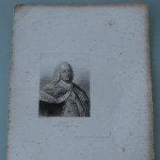 Arte: ANTIGUO GRABADO RETRATO DE JOSEPH I REY DE PORTUGAL 1777 - JOSE I. Lote 165988070