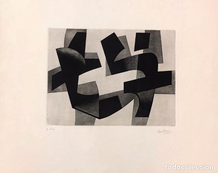 JOSÉ HURTUNA- GRABADO SOBRE PAPEL - (Arte - Grabados - Contemporáneos siglo XX)