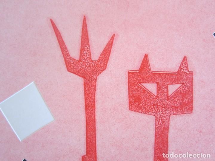 Arte: Devil in Me - Monotipo sobre papel de GAP (Guillermo Antón Pardo) - 25 x 35 cm - Foto 7 - 166657670