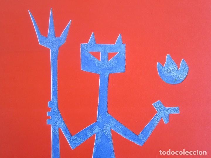 Arte: Devil in Me - Monotipo sobre papel de GAP (Guillermo Antón Pardo) - 25 x 35 cm - Foto 5 - 166657850